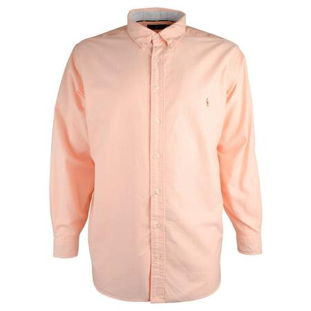 Polo Ralph Lauren Men's Big and Tall Oxford Long Sleeve Shirt