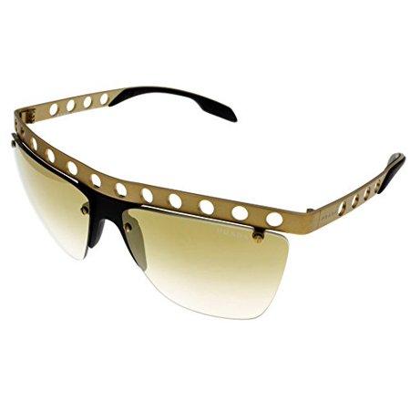 Prada Sunglasses Women Gold Semi Rimless PR53RS TWF2G2 Size: Lens/ Bridge/ Temple: 62-15-135