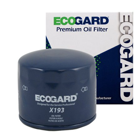ECOGARD X193 Spin-On Engine Oil Filter for Conventional Oil - Premium Replacement Fits Mitsubishi Mighty Max, Montero, Eclipse, Galant, Mirage, Starion, Expo, Van, Cordia, Expo LRV, Tredia, Precis