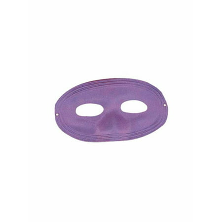 Purple Domino Mask Halloween Costume Accessory - Purple Domino