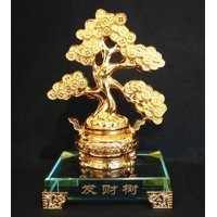 Money Tree with Crystal Base