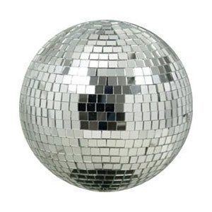 Eliminator Lighting EM8 Mirror Ball, 8