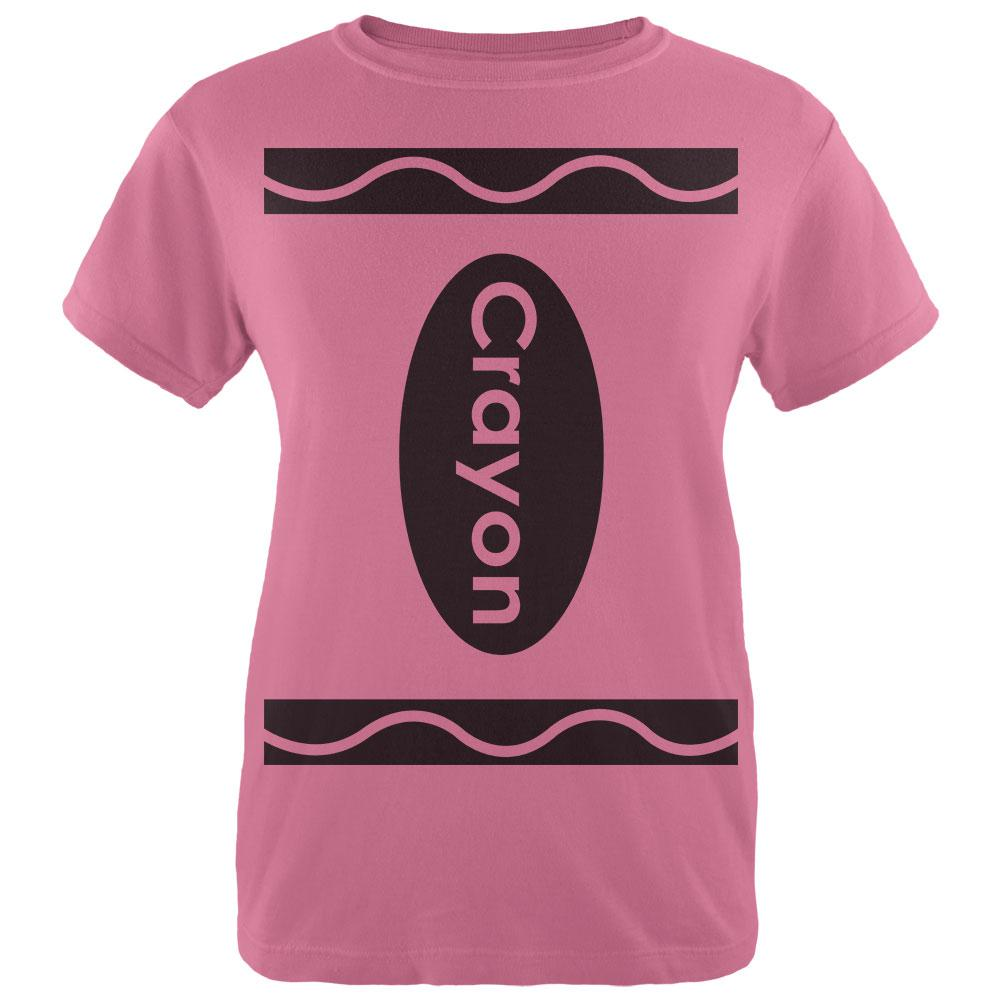 Halloween Crayon Costume Womens T Shirt