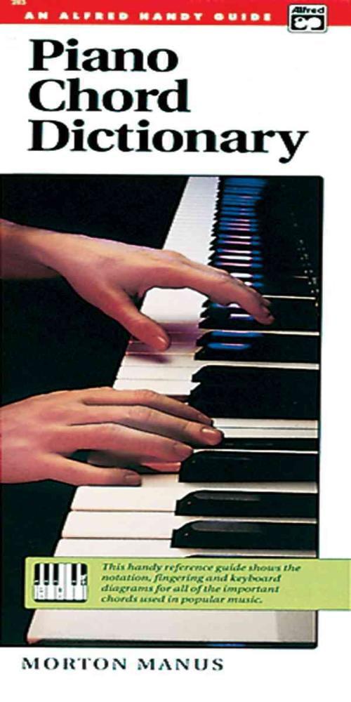 Piano Chord Dictionary M Manus Paperback