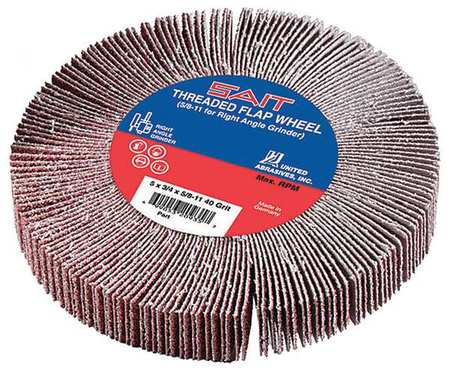 United Abrasives-SAIT 20916 Type 27 A60S 7-Inch by .090-Inch by 5//8-11-Inch Depressed Center Cutting Wheel 10-Pack United Abrasives//SAIT