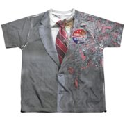 Dark Knight Two Face Costume Big Boys Sublimation Shirt