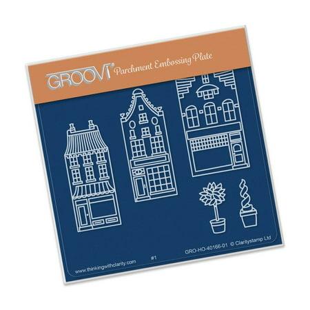 Groovi Wee Shops Plate A6 Sq ()