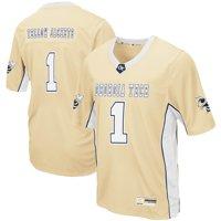 Georgia Tech Yellow Jackets Colosseum Max Power Football Jersey - Gold