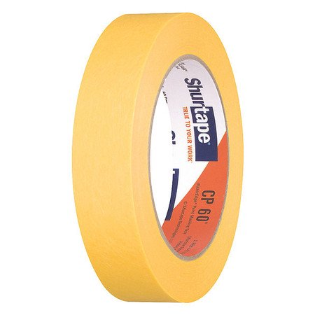 SHURTAPE Masking TapePaperYellow24mm CP 60