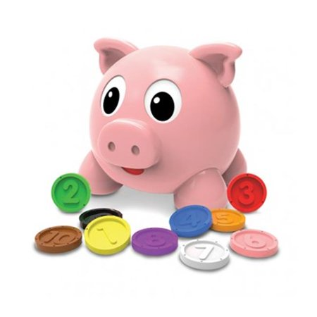 Learn with Me, Numbers & Colors Pig E Bank (Pig Clock Bank)