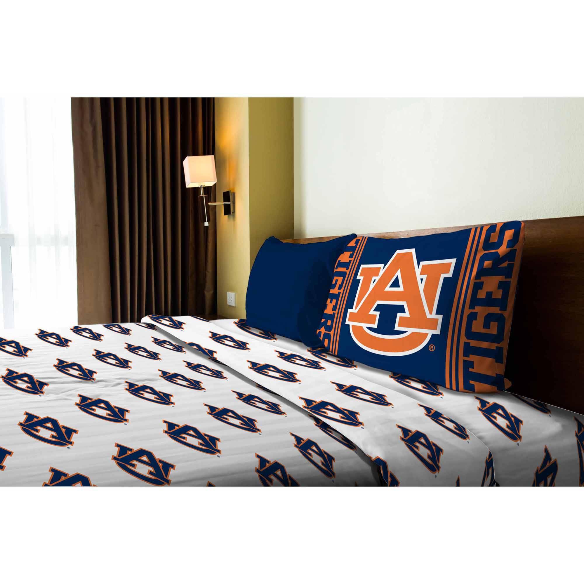 NCAA Auburn Tigers Sheet Set