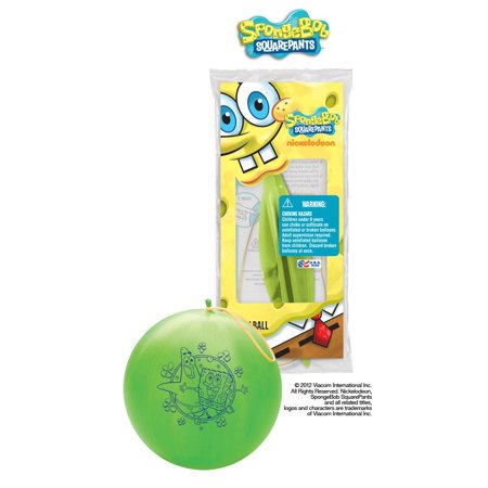Party Supplies - Pioneer Punch Balls Balloons 1 ct/Each SpongeBob 48390](Punch Balls)