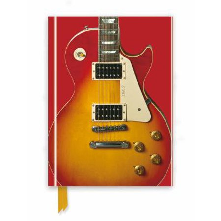 (Gibson Les Paul Guitar, Sunburst Red (Foiled Journal))