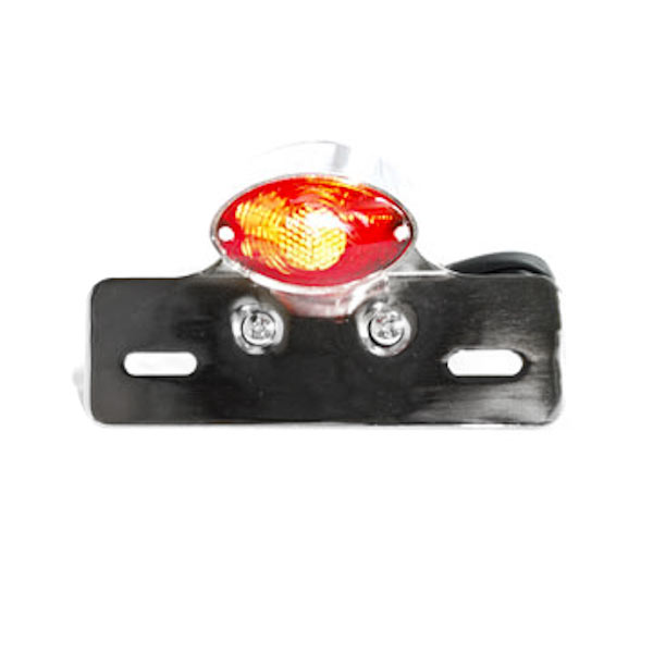 Cateye License Plate Tag Taillight Brake Light For Can-Am Sonic 125 175 200 250 400 500 560 - image 1 de 5