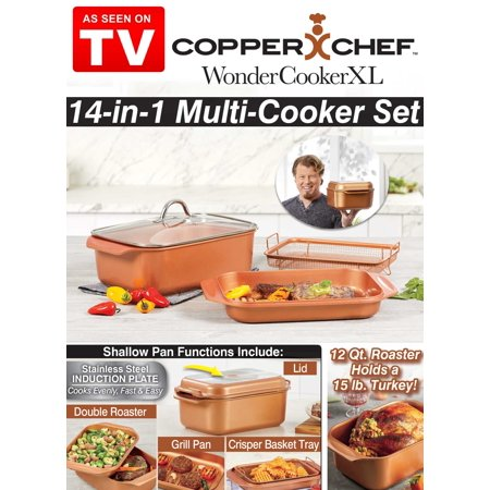 As Seen on TV Chef Wonder Roaster Copper