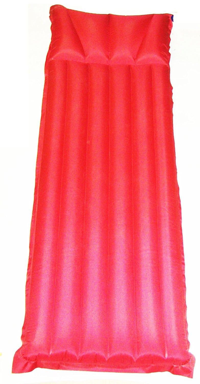 Zaltana Nylon Fabric Single Size Air Mattress With