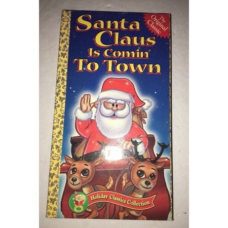 Santa Claus is Comin To Town (VHS MOVIE)