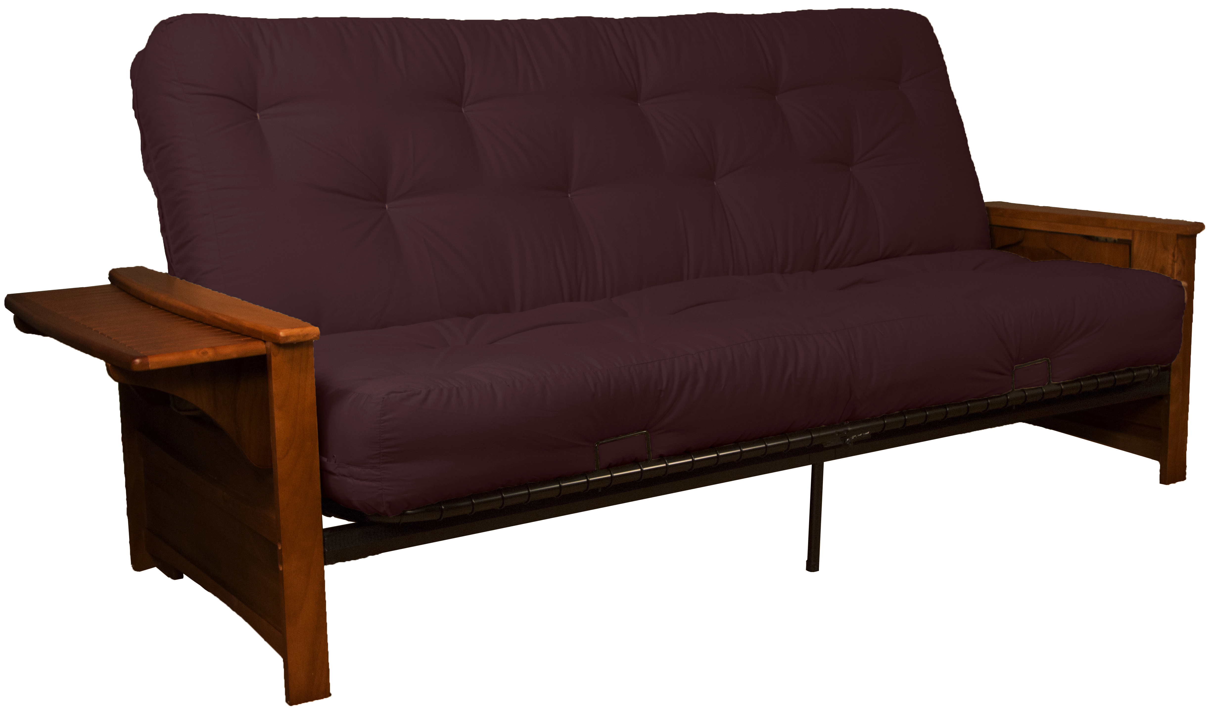 Bayview Attached End Table 10 Inch Loft Inner Spring Futon