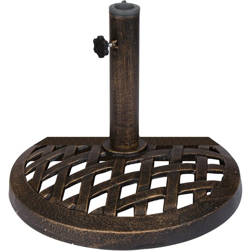 Darby Home Co Terese Half Cast Iron Free Standing Umbrella Base