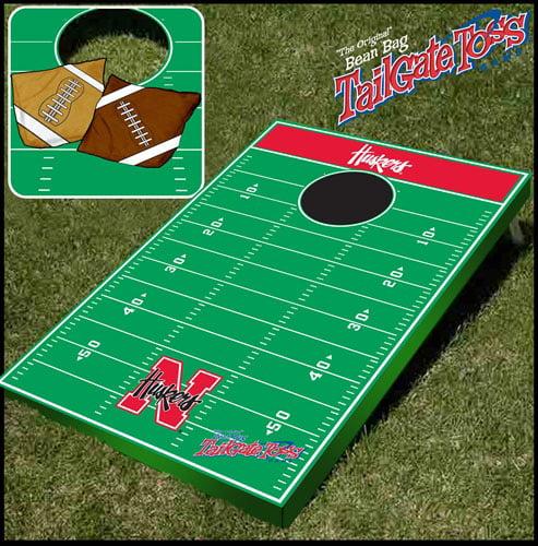 Nebraska Tailgate Toss Cornhole Beanbag Game