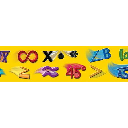 Math Symbols Straight Borders Walmart