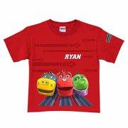 Personalized Chuggington Ridin' the Rails Boys' T-Shirt, Red