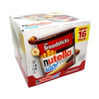 Nutella & Go Hazelnut Spread with Breadsticks 16 Packs 1.8 Oz Each