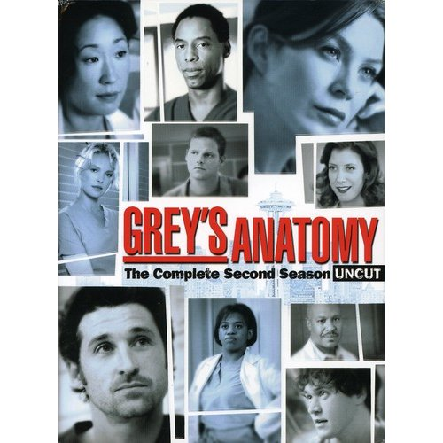 Grey's Anatomy: The Complete Second Season (Uncut) (Widescreen)