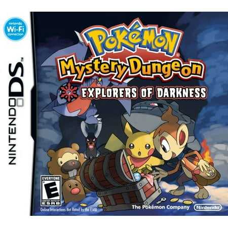 Pokemon Mystery Dungeon: Explorers of Darkness (Pokemon Mystery Dungeon Explorers Of Darkness Best Team)