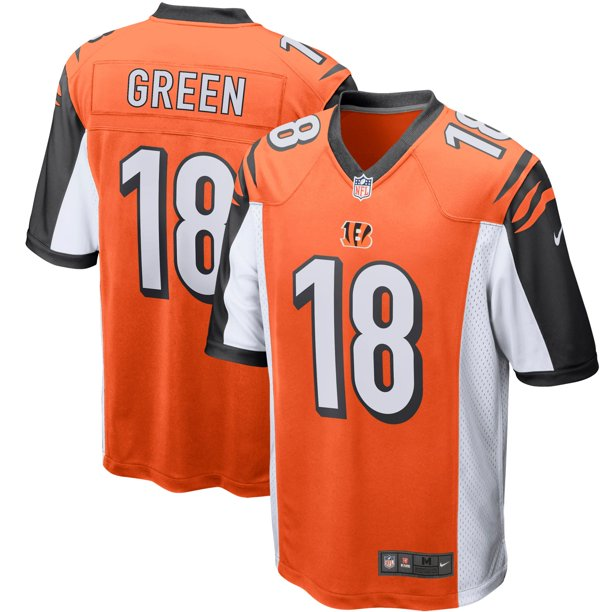 A.J. Green Cincinnati Bengals Nike Player Game Jersey - Orange