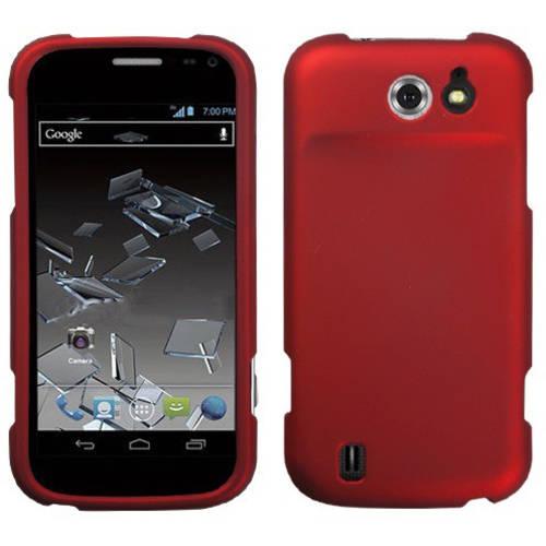 ZTE N9500 Flash MyBat Protector Case, Titanium Solid Red