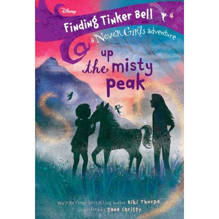 Disney Tinkerbell Flower - Finding Tinker Bell #4: Up the Misty Peak (Disney: The Never Girls)