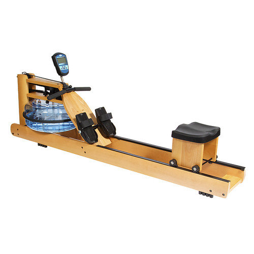 H2O Fitness Seattle Wooden Rower - Water Rowing Machine