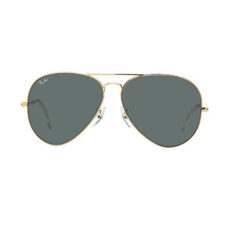2fe5407b56c UPC 711717414805. Ray-Ban 3026 Aviator Gold Frame RB 3026 L2846 62mm Green  G-15 Sunglasses Large
