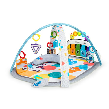 Baby Einstein 4-in-1 Kickin' Tunes Music and Language Discovery Activity Gym and Play Mat