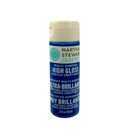 Martha Stewart High Gloss Acrylic Craft Paint 2oz-Indigo for $<!---->
