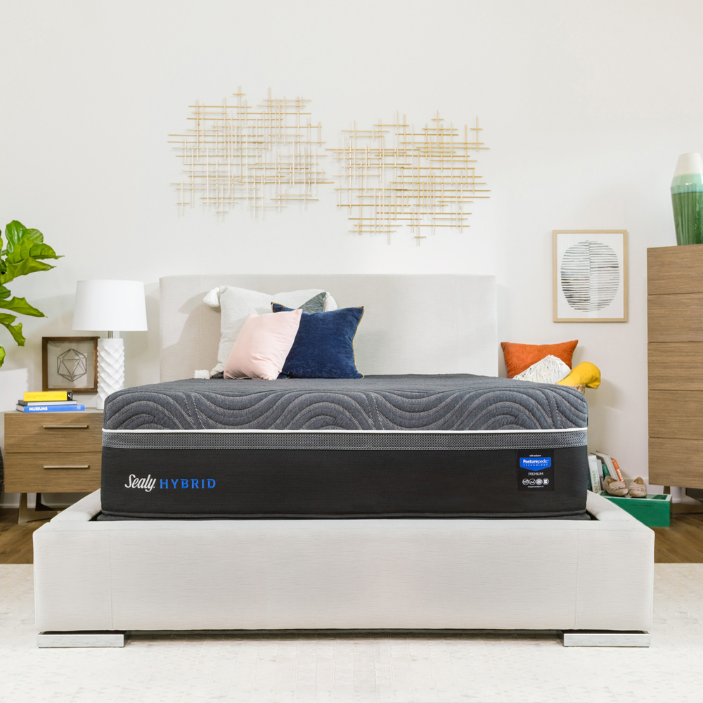 Sealy Hybrid Premium Silver Chill Cooling 14 Inch Plush Mattress