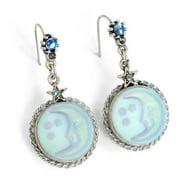 Sweet Romance  Aurora Moon Silver Earrings