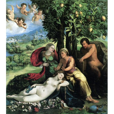 - Framed Art for Your Wall Dossi, Dosso - Pan and Ecco 10 x 13 Frame