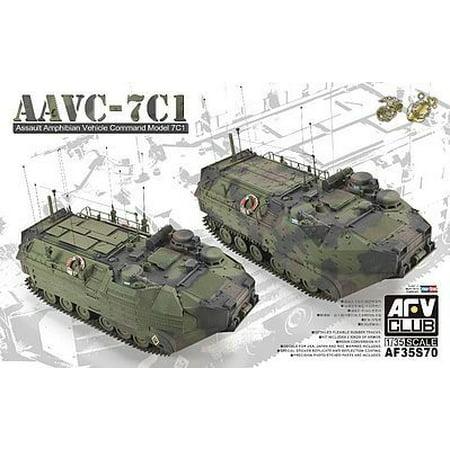 AFV35S70 1:35 AFV Club AAVC-7C1 Assault Amphibian Vehicle Command Model 7C1 [MODEL BUILDING KIT]