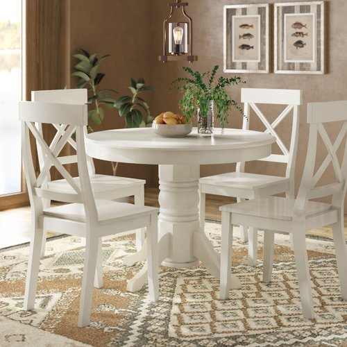 August Grove Standridge 5 Piece Dining Set