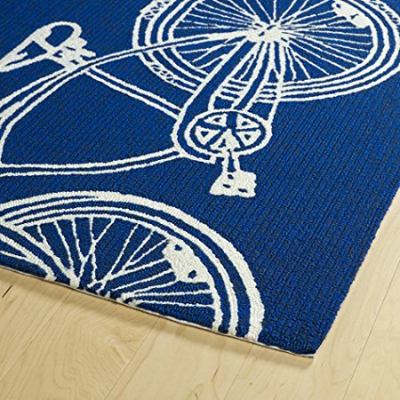 Handmade Collection (Kaleen Rugs Sea Isle Collection SEA13-22 Navy Handmade Rug, 2' x 3')