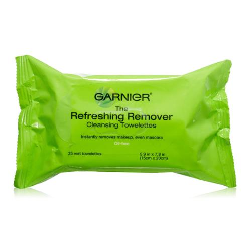 Garnier Nutritioniste Nutri-Pure Detoxifying Wet Cleansing Towelettes, Oil-Free 25 ea (Pack of 6)