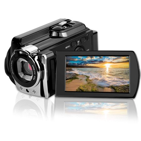 Video Camcorders CamKing 6053 Portable Digital Video Camera Max 24.0 MP 1080P Camcorder HD Support WIFI and IR
