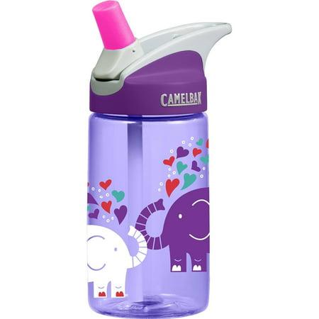 White Gallon Bottle (CamelBak Kids Eddy Water Bottle, 0.4 L, Elephant)