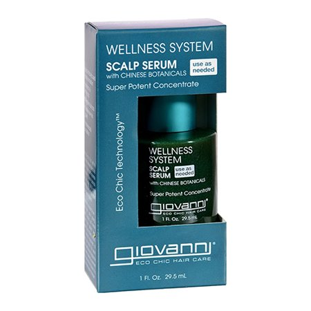 Giovanni Hair Care Wellness System Scalp Serum, 1 Oz, 2 Pack