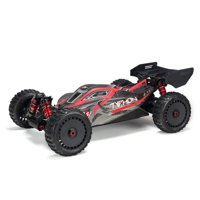 ARRMA 1/8 TYPHON 6S BLX 4WD Brushless Buggy with Spektrum RTR, Red/Grey, ARA106046