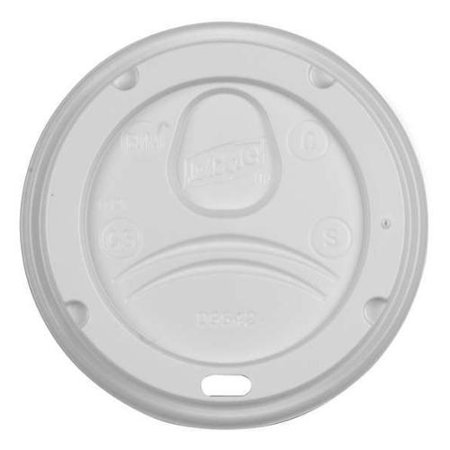 Hot Cup Dome Lid, White ,Dixie, D9542