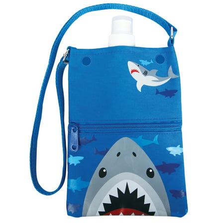 Water Bottle Tote, Shark