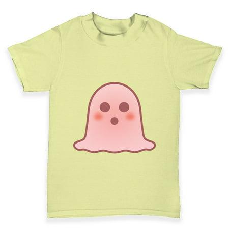 baby boy tees surprised emoji ghost baby toddler t shirt walmart com